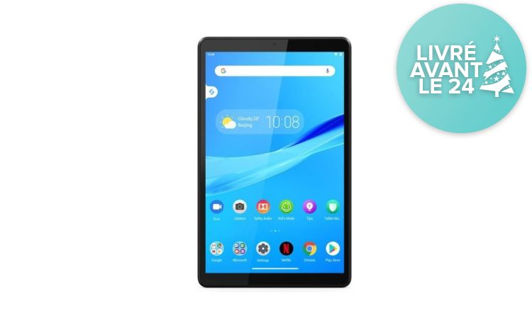 LENOVO - Android 9 Pie - Gris - enchère finie