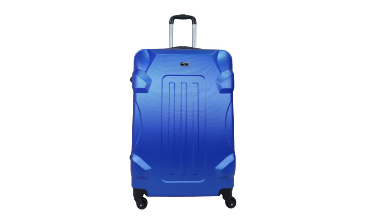 TROLLEY ADC - Gamme Corner - Valise Cabine - ABS Rigide - Bleu Navy - 4 roues - 55 cm / France - enchère finie