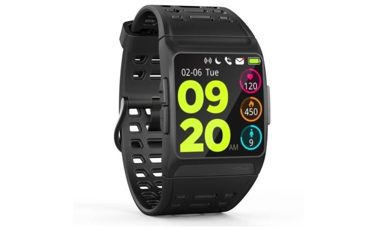 WEE'PLUG - Explorer 3s - Montre Connectée  - Multisports - 7 modes de course - Noir / France