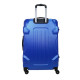 TROLLEY ADC - Gamme Corner - Valise Cabine - ABS Rigide - Bleu Navy - 4 roues - 55 cm / France
