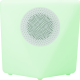 COLORLIGHT ROCK - Enceinte lumineuse - Bluetooth - Blanche / France