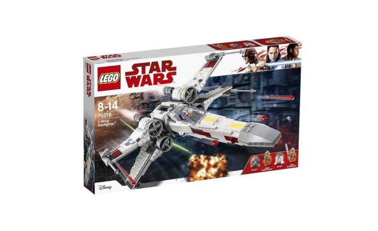 Chasseur stellaire X-Wing Starfighter - LEGO Star Wars 75218 / France