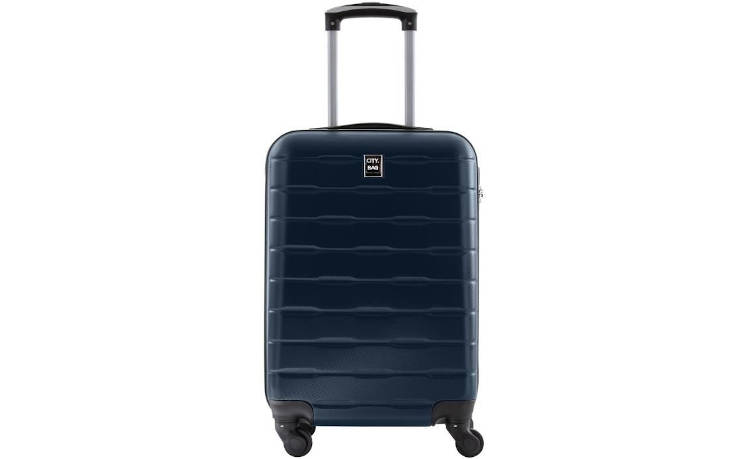 CITY BAG - Valise Cabine - ABS - Navy - 50cm / France