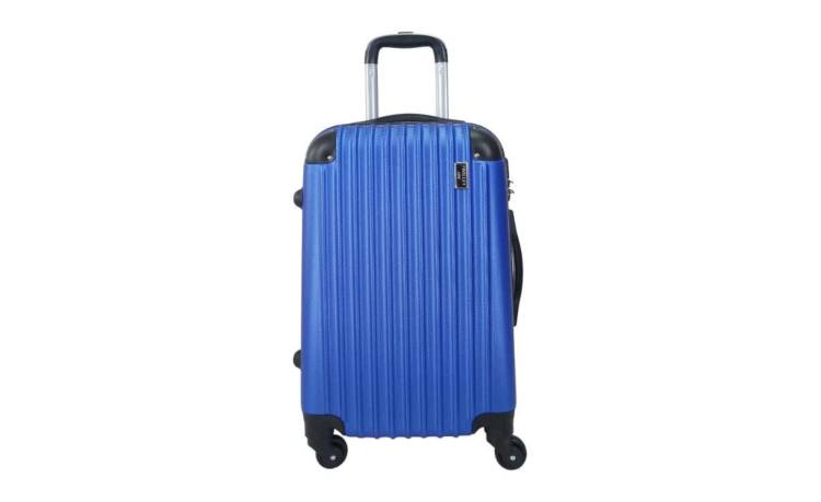 TROLLEY ADC - ABS rigide - Bleu Navy - 4 roues - enchère finie