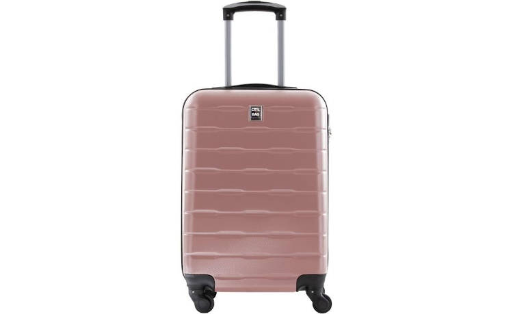 CITY BAG - Valise Cabine - ABS - Rose - 50cm  / France