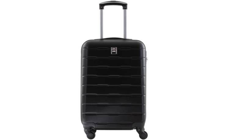 CITY BAG - Valise Cabine - ABS - Noir - 50cm / France